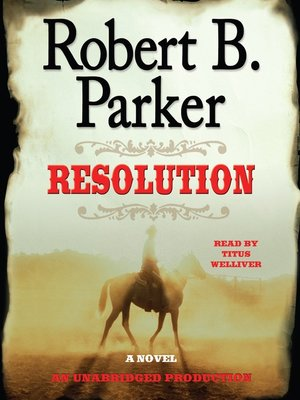 Click this cover for a(n) Audiobook sample of Resolution