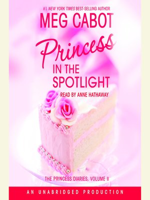 Click this cover for a(n) Audiobook sample of Princess in the Spotlight