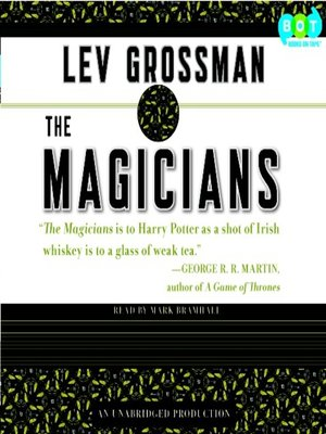 Click this cover for a(n) Audiobook sample of The Magicians.