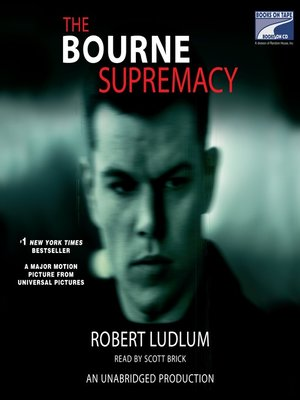 Click this cover for a(n) Audiobook sample of The Bourne Supremacy.