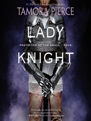 Click this cover for a(n) Audiobook sample of Lady Knight.