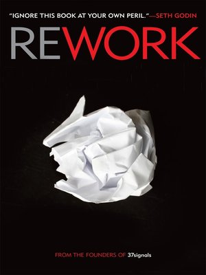 Click this cover for a(n) Audiobook sample of Rework