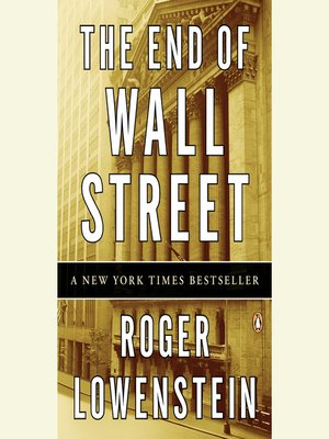 Cover of The End of Wall Street