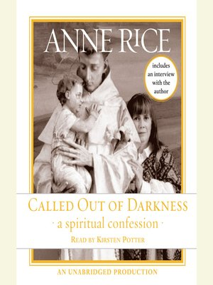 Click this cover for a(n) Audiobook sample of Called Out of Darkness.