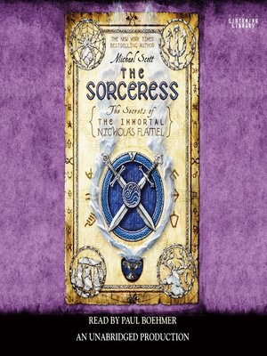 Click this cover for a(n) Audiobook sample of The Sorceress.