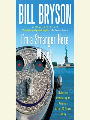 Click this cover for a(n) Audiobook sample of I'm a Stranger Here Myself.