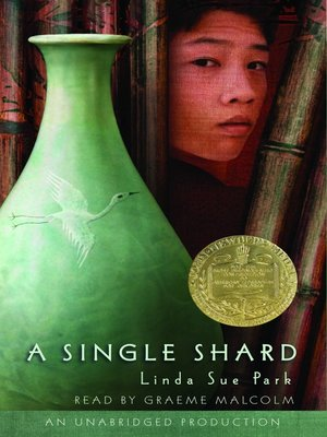 Click this cover for a(n) Audiobook sample of A Single Shard.