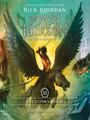 Click this cover for a(n) Audiobook sample of The Titan's Curse.