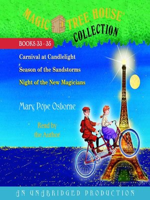 Click this cover for a(n) Audiobook sample of Magic Tree House Collection, Books 33-35