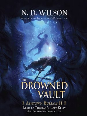 Click this cover for a(n) Audiobook sample of The Drowned Vault.