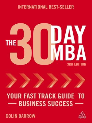 Click this cover for a(n) eBook sample of The 30 Day MBA