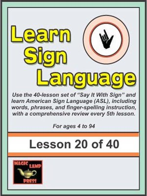 Cover of Learn Sign Language
