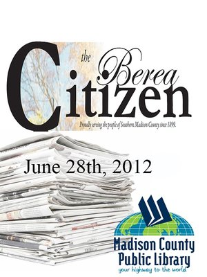 The Berea Citizen 2012 06/28