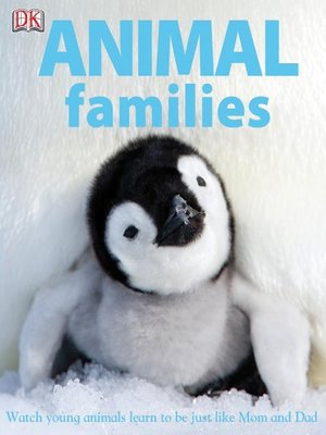 Click this cover for a(n) eBook sample of Animal Families