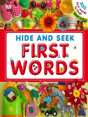 Click this cover for a(n) eBook sample of Hide and Seek First Words.