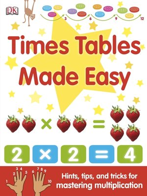 Click this cover for a(n) eBook sample of Times Tables Made Easy