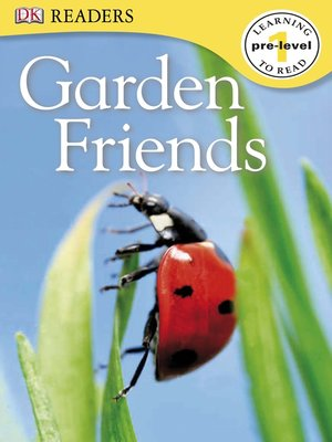Click this cover for a(n) eBook sample of Garden Friends.