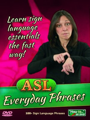 ASL Everyday Phrases