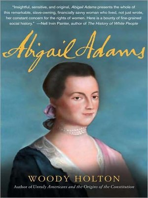 Cover of Abigail Adams