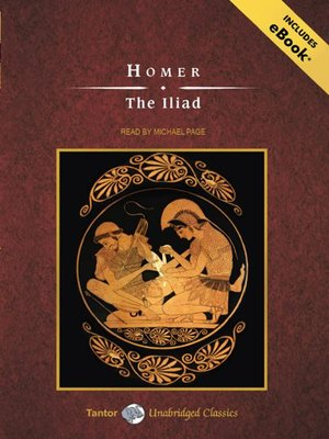 Click this cover for a(n) Audiobook sample of The Iliad