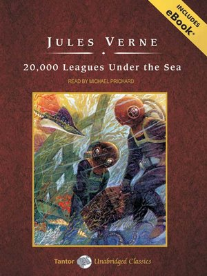 Click this cover for a(n) Audiobook sample of 20,000 Leagues Under the Sea.