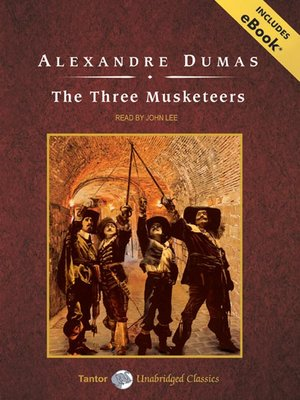 Click this cover for a(n) Audiobook sample of The Three Musketeers.