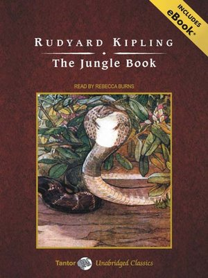 Click this cover for a(n) Audiobook sample of The Jungle Book