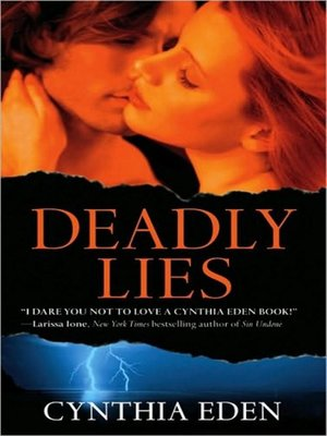 Click this cover for a(n) Audiobook sample of Deadly Lies