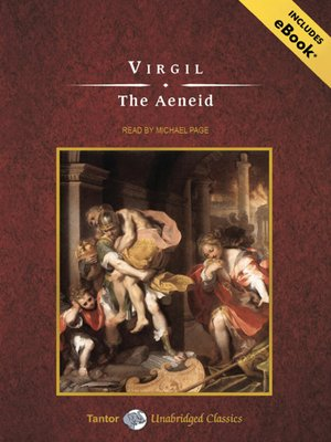 Click this cover for a(n) Audiobook sample of The Aeneid.