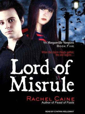 Click this cover for a(n) Audiobook sample of Lord of Misrule.