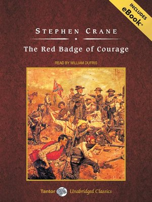 Click this cover for a(n) Audiobook sample of The Red Badge of Courage