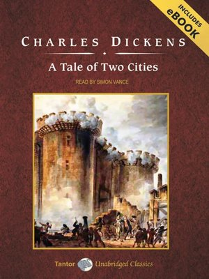 Click this cover for a(n) Audiobook sample of A Tale of Two Cities.