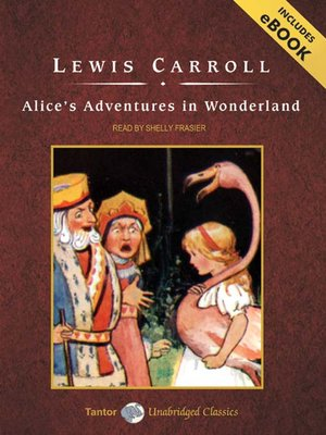 Click this cover for a(n) Audiobook sample of Alice's Adventures in Wonderland.