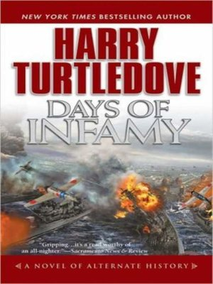 Click this cover for a(n) Audiobook sample of Days of Infamy.