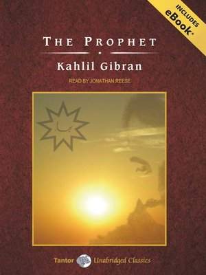 Click this cover for a(n) Audiobook sample of The Prophet.
