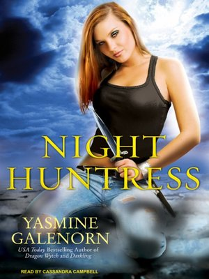 Click this cover for a(n) Audiobook sample of Night Huntress.