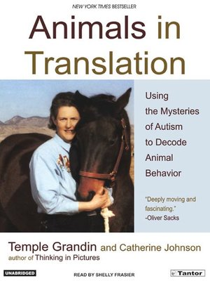 Click this cover for a(n) Audiobook sample of Animals in Translation.