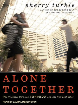 Click this cover for a(n) Audiobook sample of Alone Together