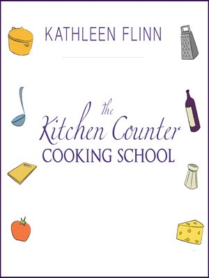 Click this cover for a(n) Audiobook sample of The Kitchen Counter Cooking School.