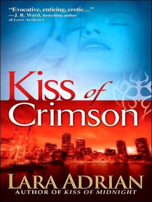 Click this cover for a(n) Audiobook sample of Kiss of Crimson.