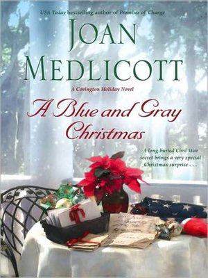 Click this cover for a(n) Audiobook sample of A Blue and Gray Christmas.