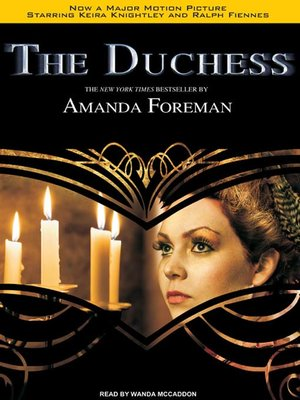 Click this cover for a(n) Audiobook sample of The Duchess