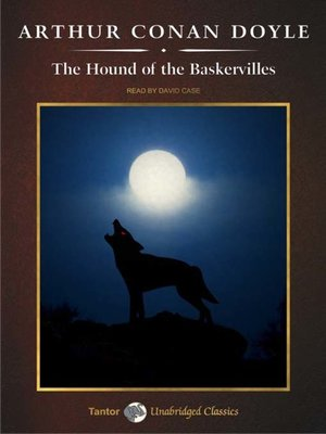Click this cover for a(n) Audiobook sample of The Hound of the Baskervilles.