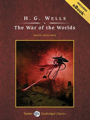 Click this cover for a(n) Audiobook sample of The War of the Worlds.