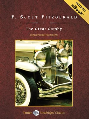 Click this cover for a(n) Audiobook sample of The Great Gatsby