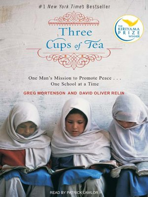 Click this cover for a(n) Audiobook sample of Three Cups of Tea