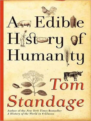 Click this cover for a(n) Audiobook sample of An Edible History of Humanity.