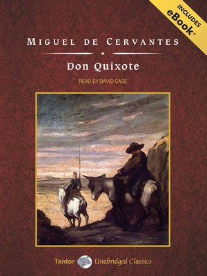 Click this cover for a(n) Audiobook sample of Don Quixote