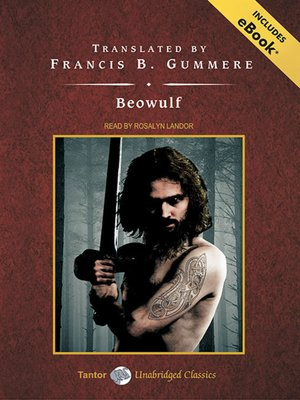 Click this cover for a(n) Audiobook sample of Beowulf.
