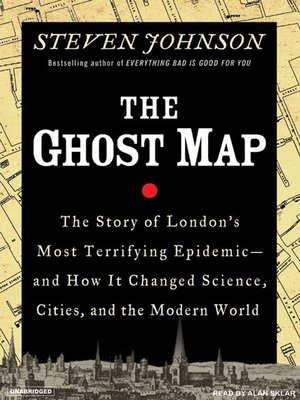 Click this cover for a(n) Audiobook sample of The Ghost Map.